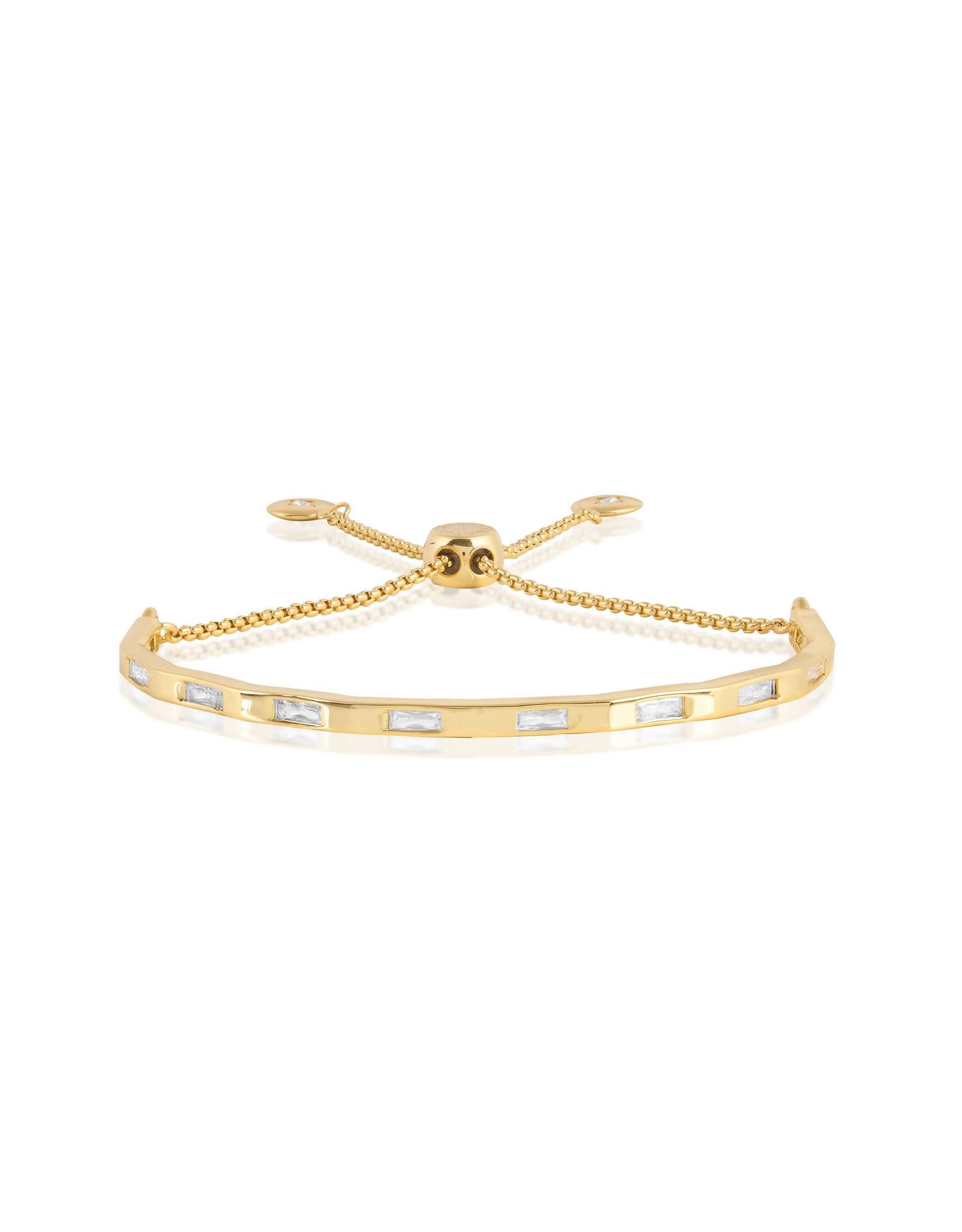 Joma Jewellery Armband Bar - Baquette Goud