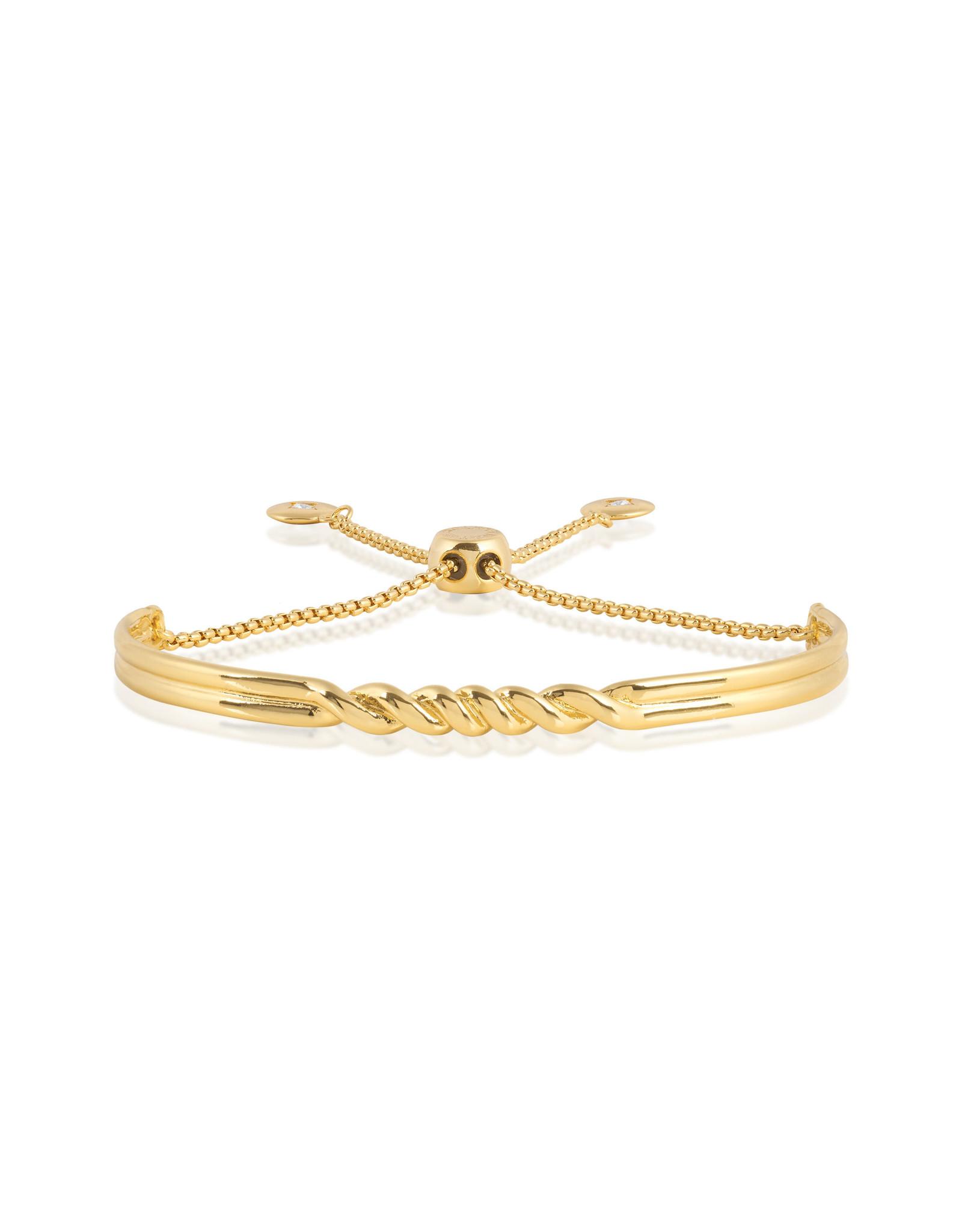 Joma Jewellery Armband Bar - Twist Goud