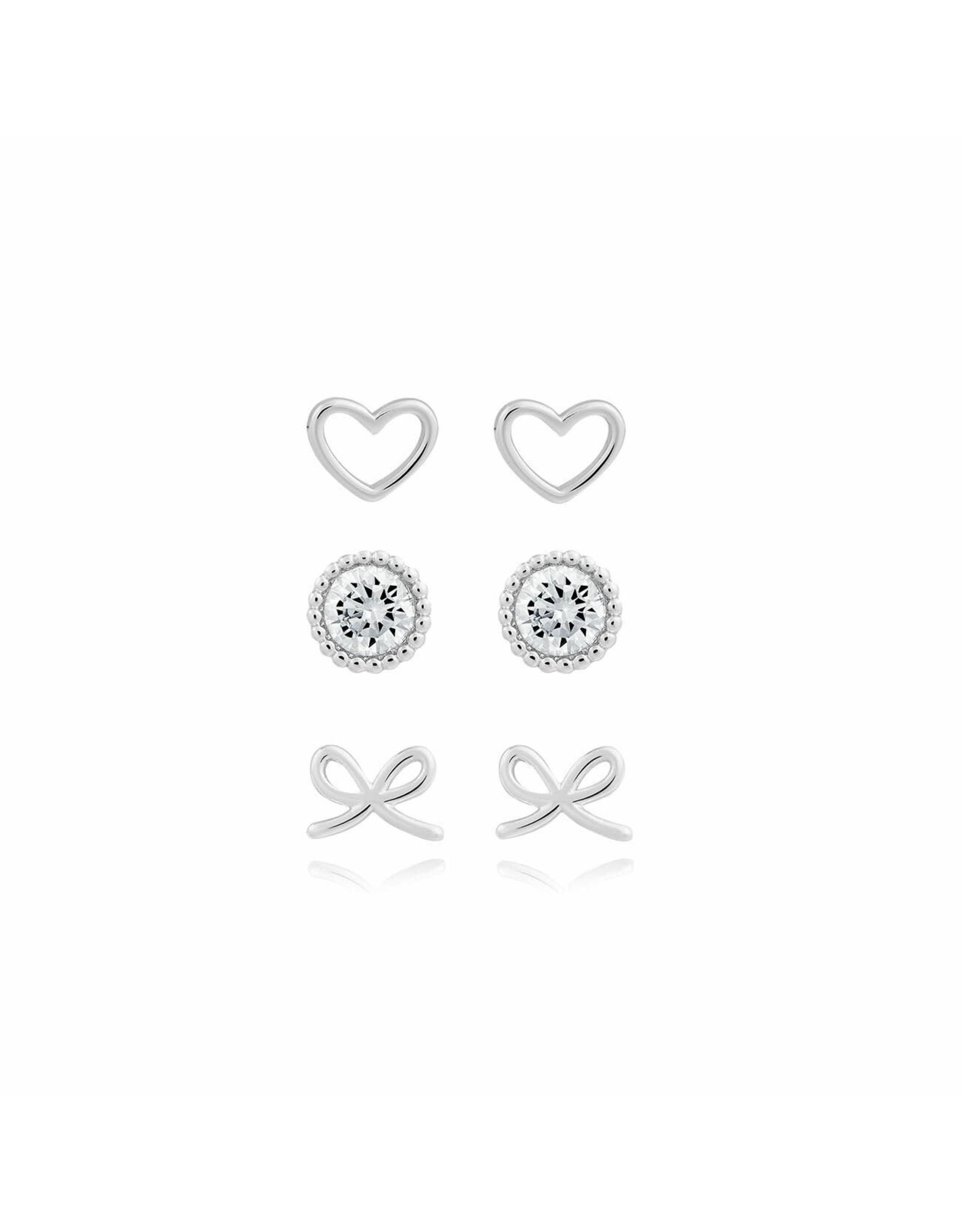 Joma Jewellery Oorbellen Set - Love You