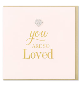 Hearts Design Wenskaart - You are so Loved