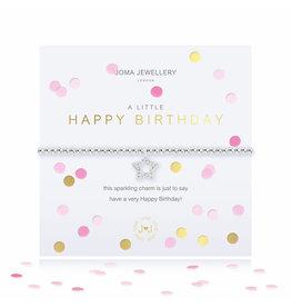 Joma Jewellery A Little - Happy Birthday - Armband