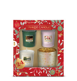 Yankee Candle Countdown to Christmas - 3 Votives & Holder