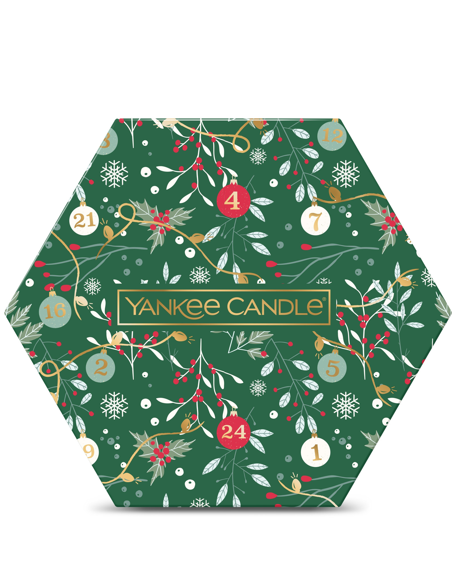 Yankee Candle Countdown to Christmas - Tea Light Delight