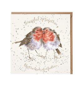 Wrendale Wenskaart - Birds of a Feather