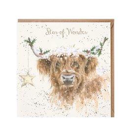Wrendale Wenskaart - Highland Star