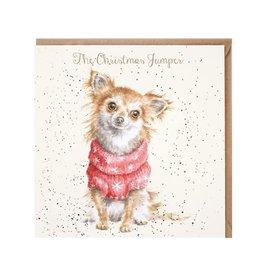 Wrendale Wenskaart - The Christmas Jumper