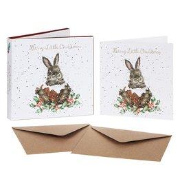 Wrendale Set Wenskaarten - Merry Little Christmas