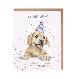 Wrendale Wenskaart - What Cake?