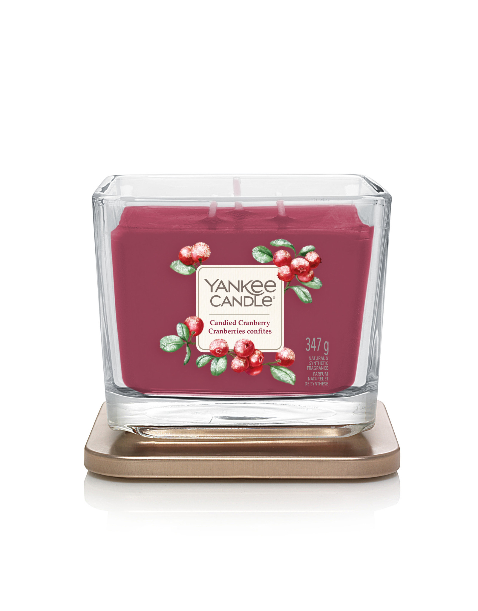 Yankee Candle Candied Cranberry - Medium Vessel