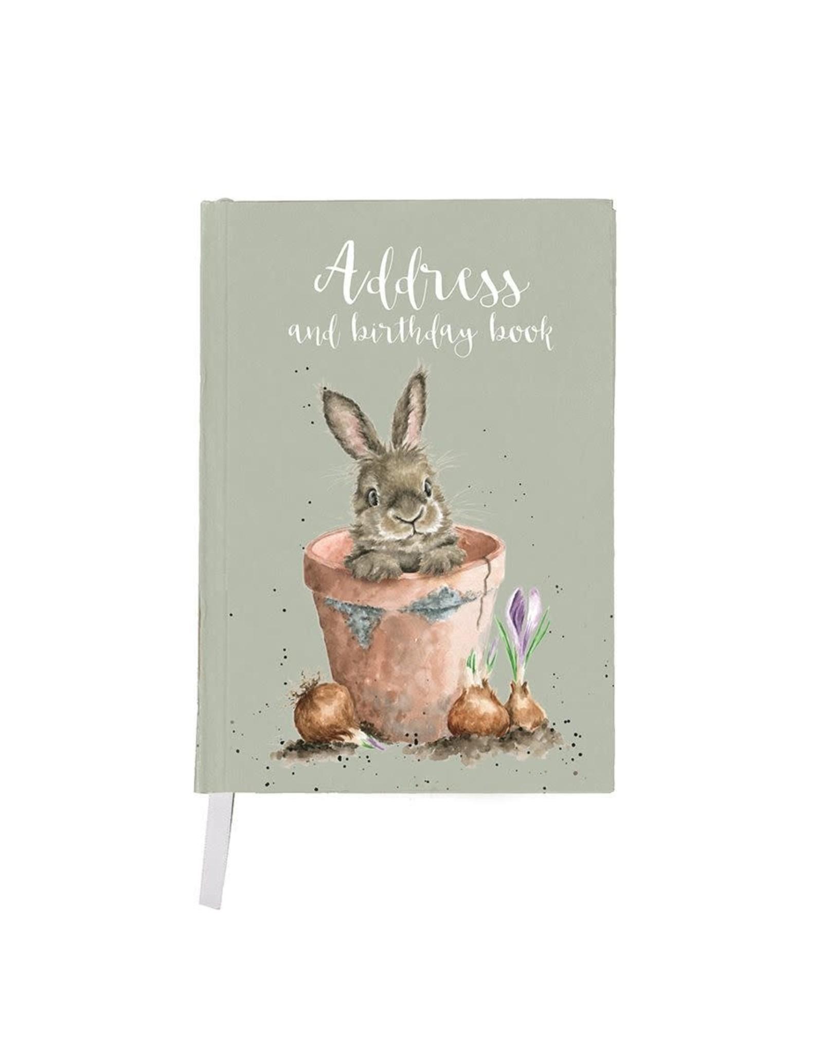 Wrendale Adresboek - The Flower Pot
