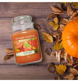 Yankee Candle Autumn Leaves - Large Jar
