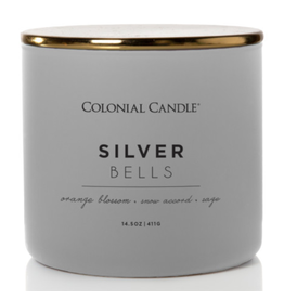 Colonial Candle Pop of Color - Silver Bells