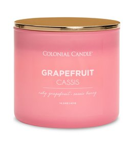 Colonial Candle Pop of Color - Grapefruit Cassis