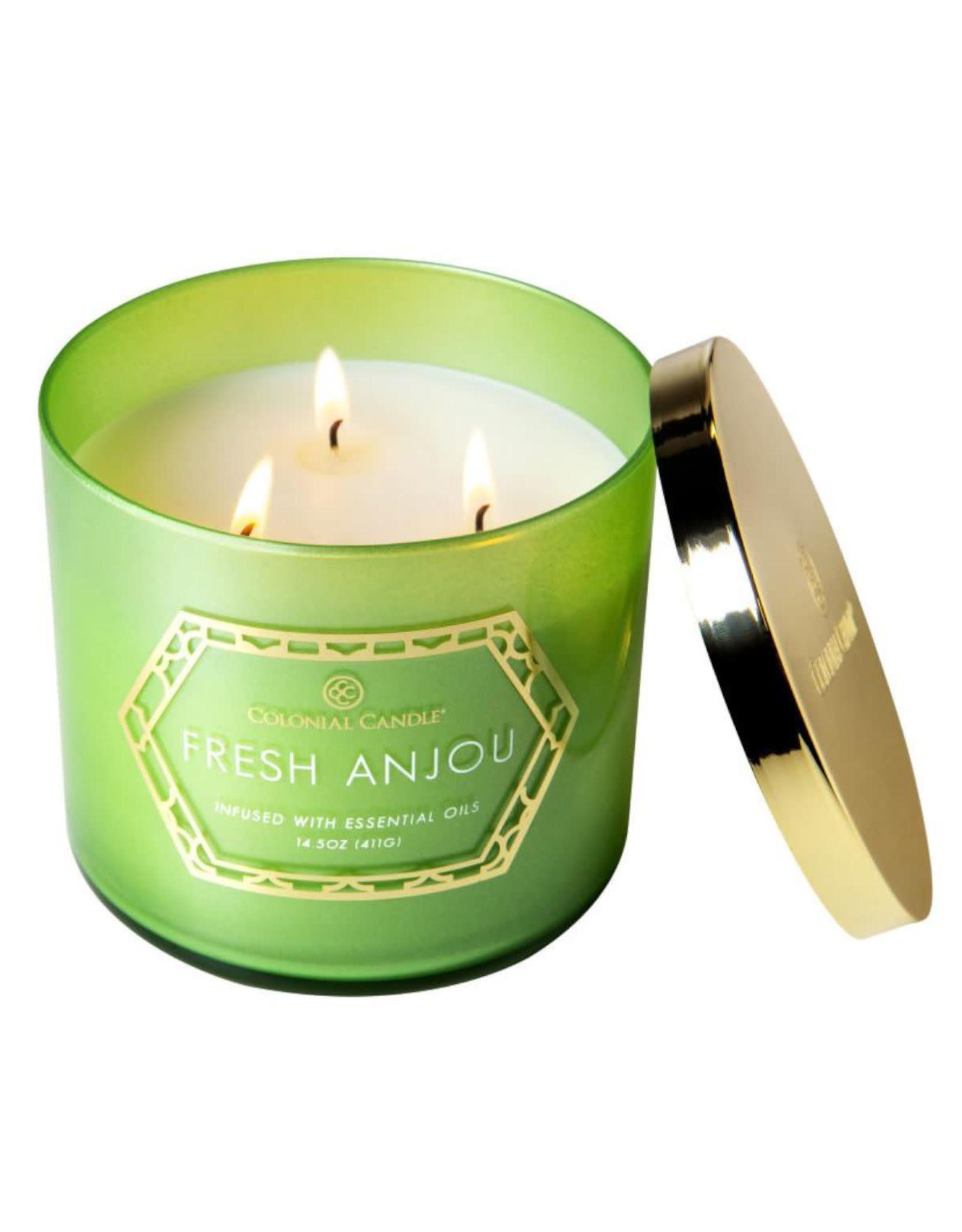 Colonial Candle Geo Luxe - Fresh Anjou