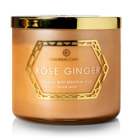 Colonial Candle Geo Luxe - Rose Ginger