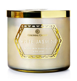Colonial Candle Geo Luxe - White Jasmine