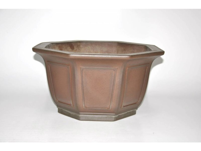 Bonsai pot brown 43 cm