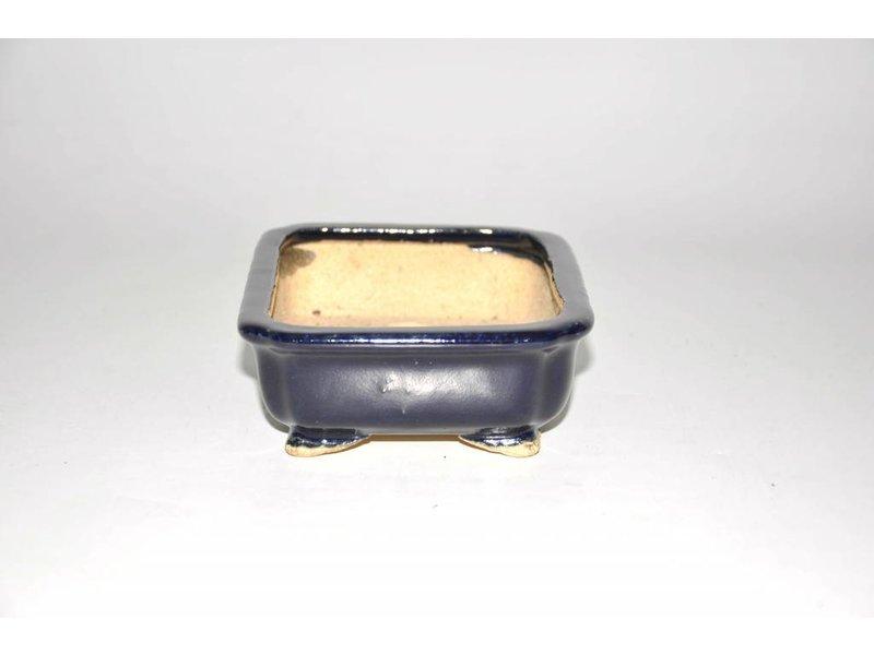 Bonsai Topf blau 15 cm