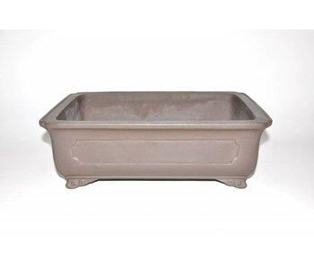 Bonsai pot brown 38 cm