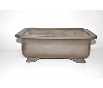 Bonsai pot brown 48 cm