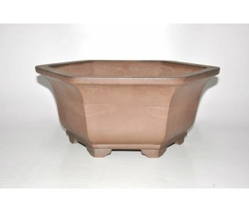Bonsai pot brown 40 cm