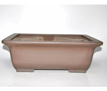 Bonsai pot brown 51 cm
