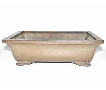 Bonsai pot brown 40,5 cm