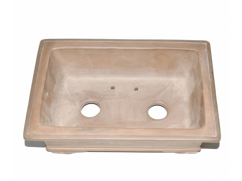 Bonsai pot marrone 26 cm
