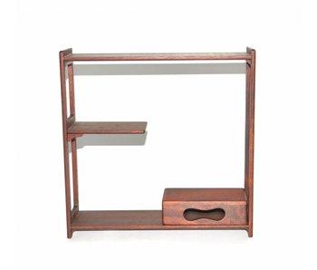 tavolo marrone 31,5 cm