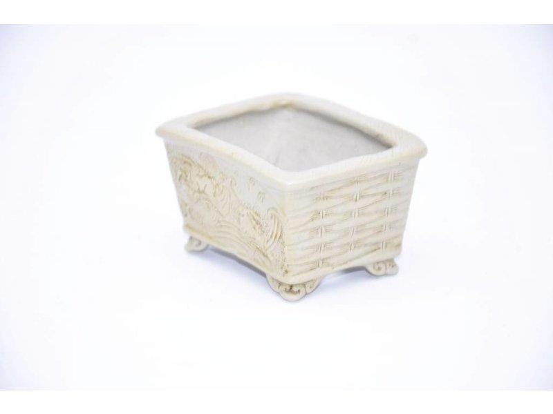 Rechthoekige Ranzan-pot