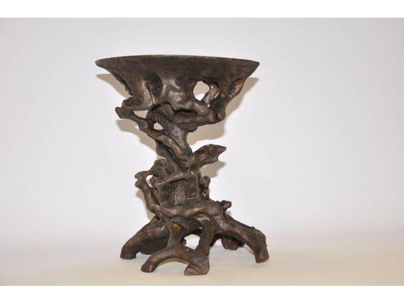 Nuts root table dark