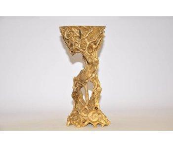 Mesa de nogal hecha de madera de raíz No. 43