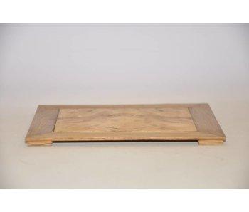 Table en chêne / châtaignier n ° 37