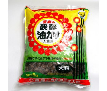 Fertilizzante Aburakasu  4 kg grano 15 mm
