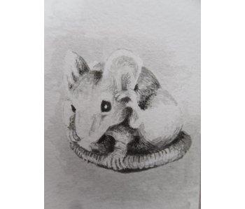 Ratte 1 Tanzaku 36x6 cm