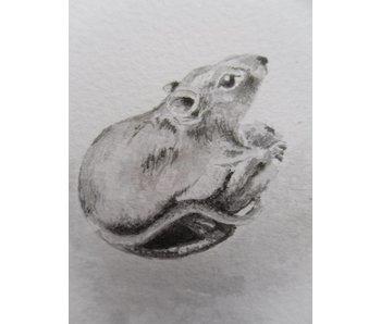 Ratón 1 Tanzaku 36x6 cm