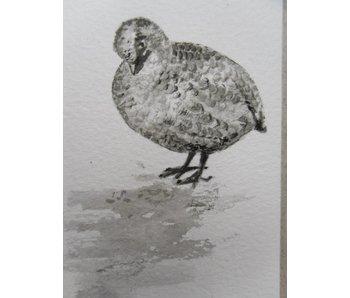 Grouse Tanzaku 36x6 cm