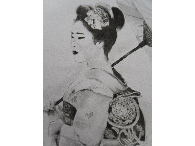 Shikishi 13x12 cm
