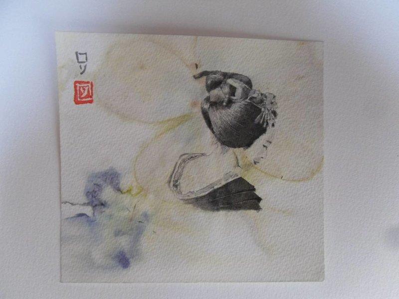 Geisha 3 Shikishi 13x12 cm