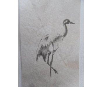 Crane Tanzaku 36x6 cm
