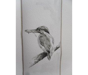 Kingfisher 5 Tanzaku 36x6 cm