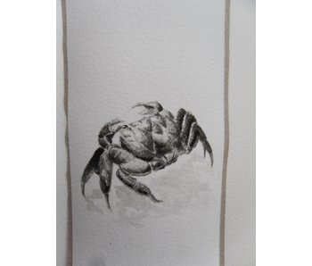 Crab 1 Tanzaku 36x6 cm