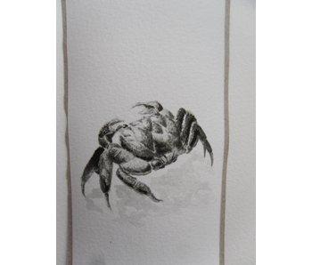 Crabe 1 Tanzaku 36x6 cm
