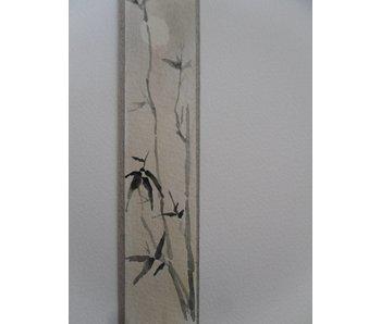 Bamboo moon Tanzaku 23,5x3 cm