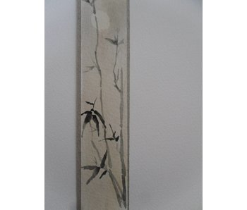 Bambù luna Tanzaku 23,5x3 cm