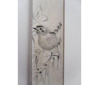 Bird 3 Tanzaku 23,5x3 cm