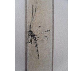 Libellule Tanzaku 23,5x3 cm