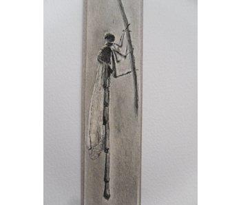 Libellule 2 Tanzaku 23,5x3 cm