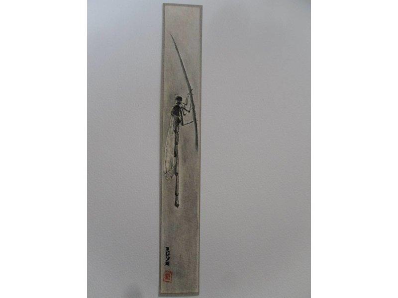 Dragonfly 2 Tanzaku 23,5x3 cm