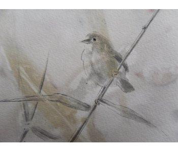 Oiseau 5 13x12 cm